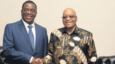 Mnangagwa embarks on first state visit to SA