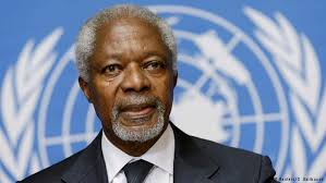 World mourns passing of global icon Annan