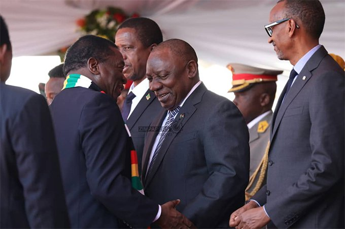 SA, Zimbabwe solidify relations as Ramaphosa visits