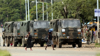 Five killed in Zimbabwe anti-government protests