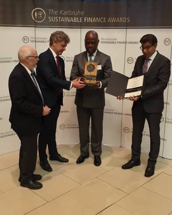 Access Bank receives global sustainability banking award