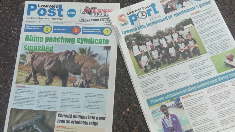 Inaugura Lowveld Post newspaper edition hits Chiredzi streets