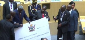 Mugabe urges African leaders to look within for funding