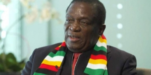 Mnangagwa lowers country's lockdown level as vaccine rollout peaks