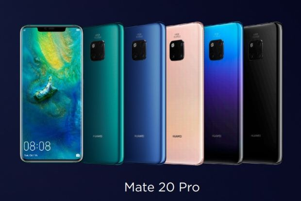 Huawei launches Mate 20, dubbed 'king of smartphones'