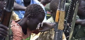 South Sudanese rebels release child soldiers