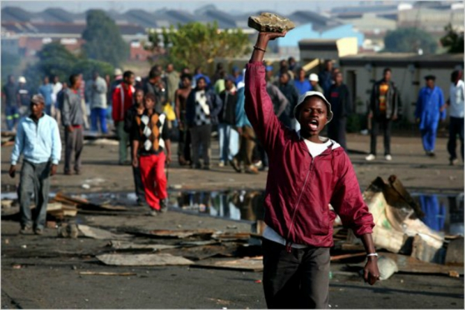 Nationals descend heavily on xenophobic South African
