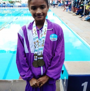 Swimming prodigy dubbed Zimbabwe's next Kirsty Coventry