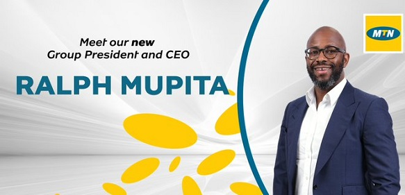 Zimbabwean Mupita appointed MTN Group President, CEO