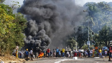 Neighboring economies recover from SA unrest