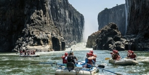 Water rafting at Zambezi sinks to an all-time low
